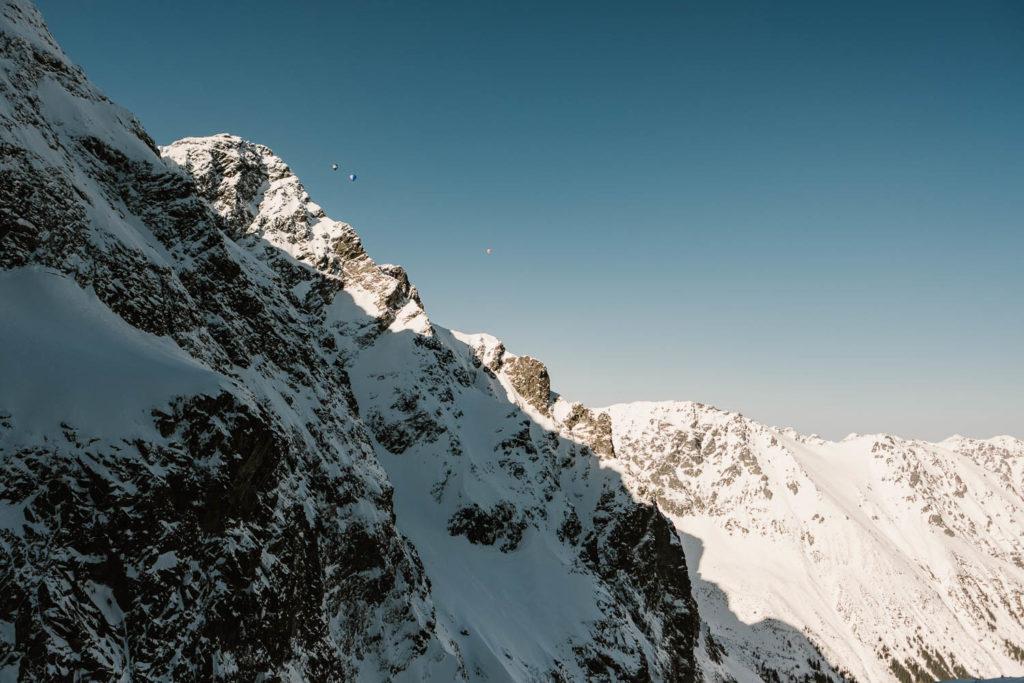 Balony nad Tatrami.