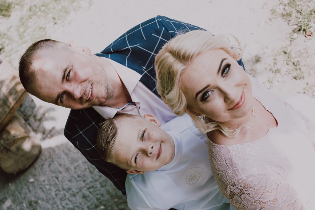 Adrian, Norbert i Justyna