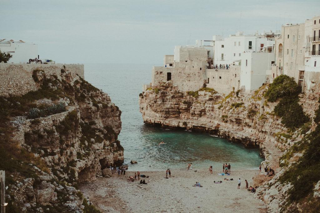 Włoski klimat w Polignano a Mare