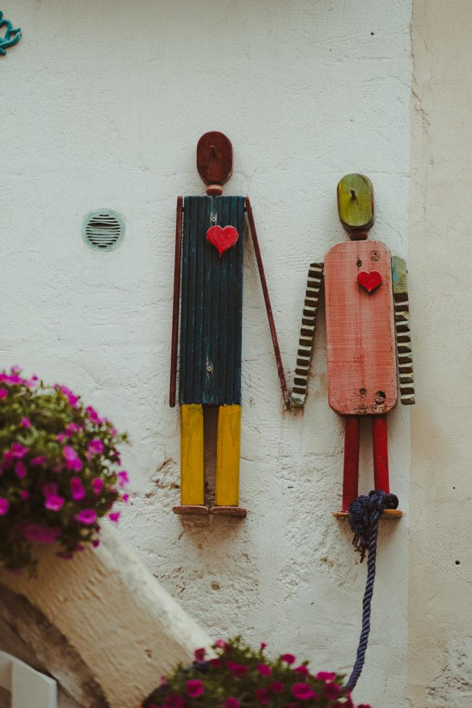 figurki z drewna. Handmade