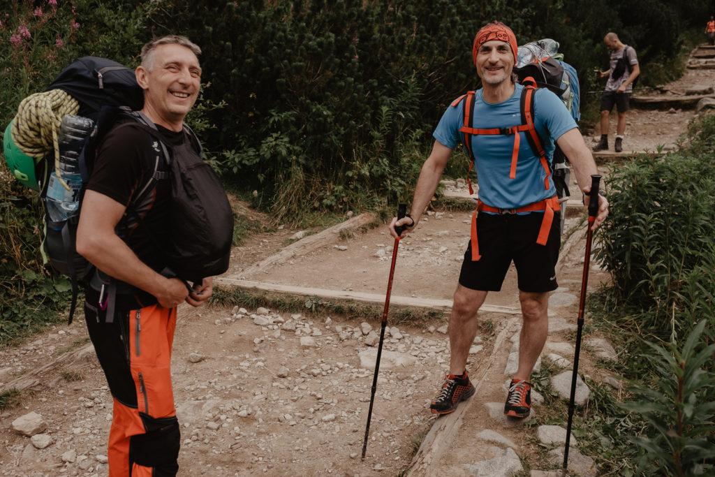 Schodzimy do Zakopanego.