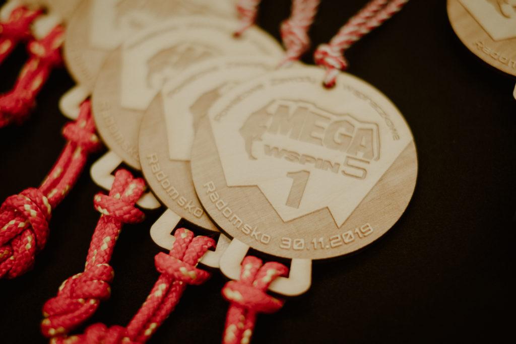 medale megawspin