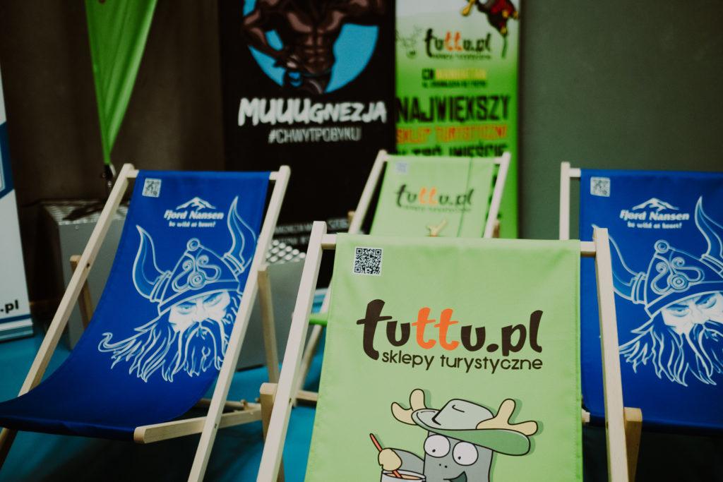 Leżaki sponsora Tuttu.pl