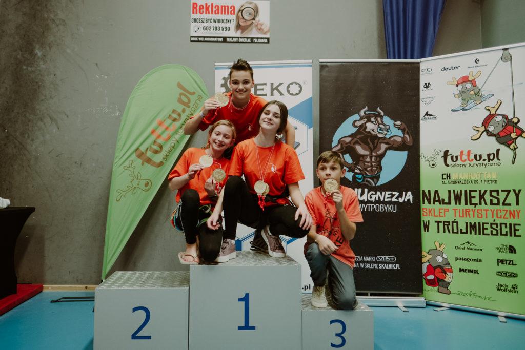 Dzieciaki na podium