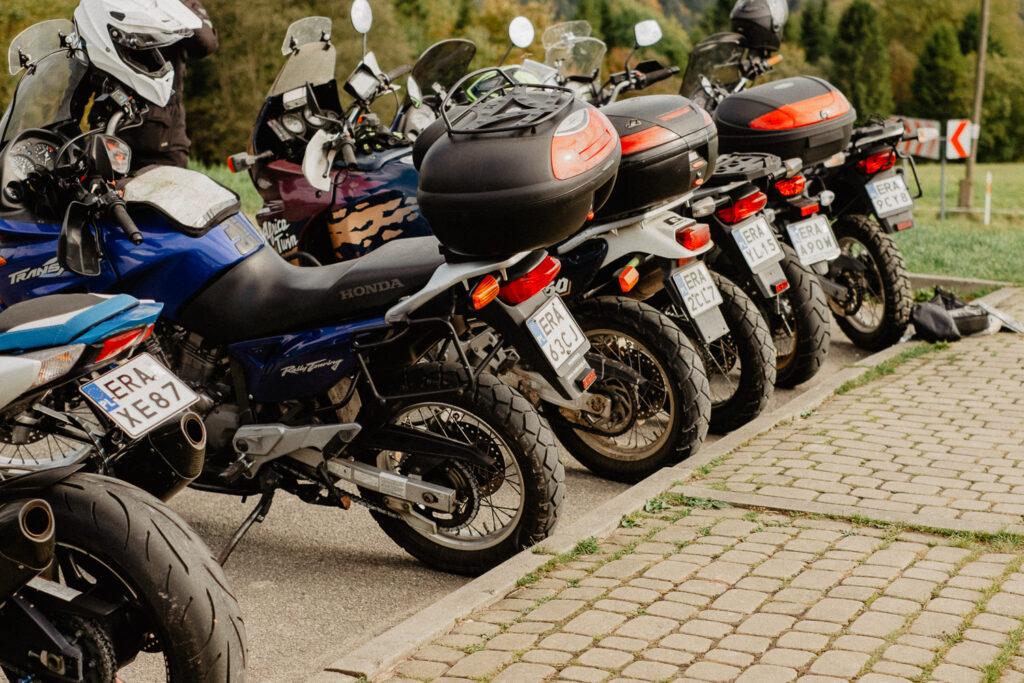 tylne koła motocykli