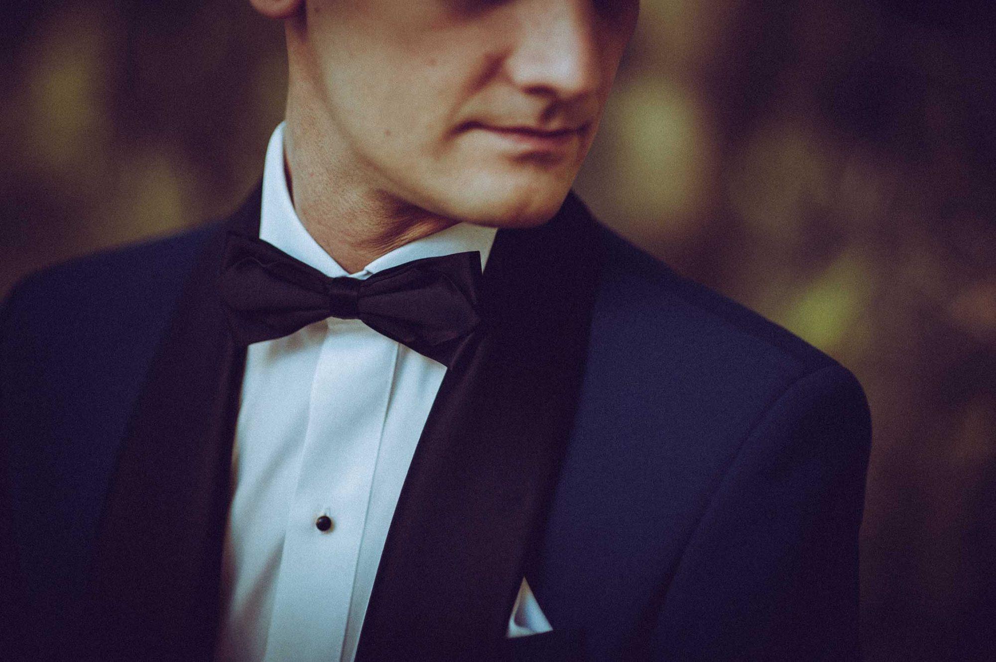 portret pan młody Grom ślub